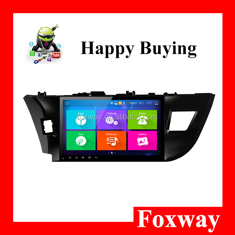 Support GPS Navigation Bluetooth WiFi car stereo installation