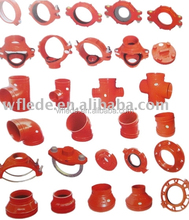 Pipe Fittings FM&UL Ductile Iron Adapter Flange LEDE Original Manufacturer