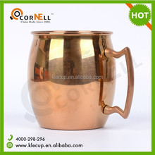 2015 newest hot sale copper mug with customized logo