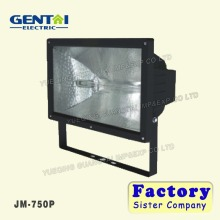 outdoor 500W halogen matt black diecasting aluminium floodlight