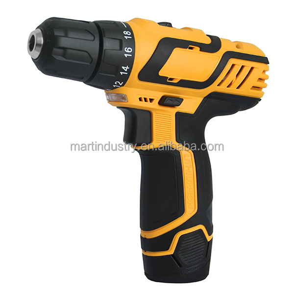 High Quality 10.8 V Lithium-Ion Cordless Drill Driver 2 speed Cordless Drill