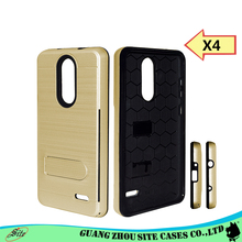 2017 line various color kickstand card slot phone case For ZTE grand X4