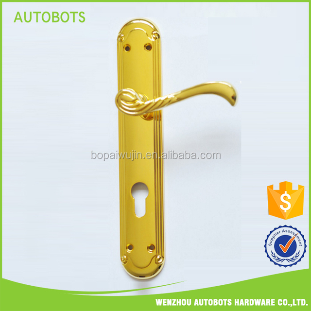 Stainless Steel American Style zinc Lever Concealed Door Handle