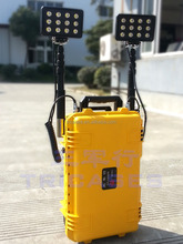 Yellow fashion case , waterproof mobile lighting case with foam