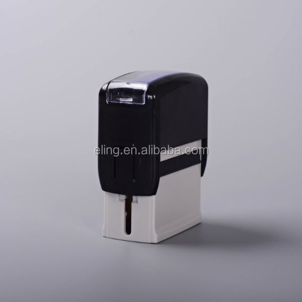 Plastic Self inking Stamp customized wooden handle and copper head wax seal stamp