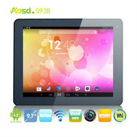 China Cheap Tablette 9.7 inch 2G DDR3 RK3188 tablet 8000mah android 4.2 tablet retina display 9.7 inch tablet pc S93