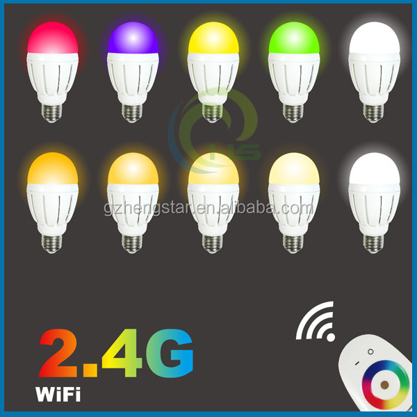 2017 New arrival milight wifi led bulb 6w 9W AC86-260V , rgb wifi led bulb, milight