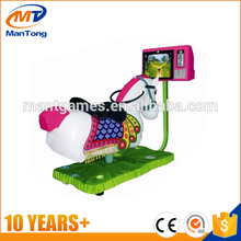Amazing! Kids love best horse racing game machine,Horse riding machine simulator for sale