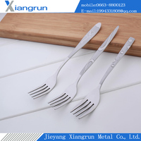 Middle East Tableware Stainless Steel Fork With Fashion Pattern
