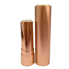 Factory sale! High Grade Fashionable Mushroom Type Gold Aluminum Lipstick Tube