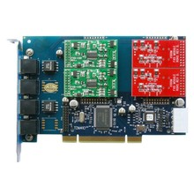 GSM400E,4 ports GSM modules Asterisk card PCI-E Card For Mobile IP-PBX, 850/900/1800/1900mhz