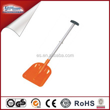 Aluminum collapsible snow shovel for car