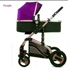China manufacturer baby products high view luxury 3 in 1 baby stroller wholesale