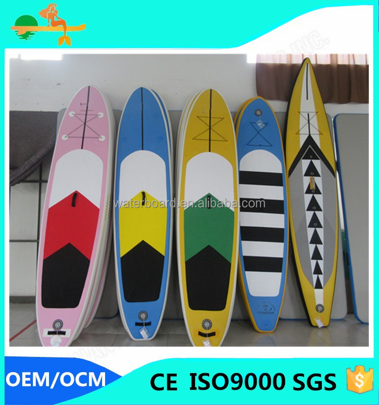 2016 retail air all around surfing sup board/Inflatable floating air surfboard/China inflatable sup surfboard