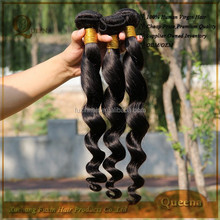 7a 100% loose wave curly malaysian hair,guangzhou hair extension factory