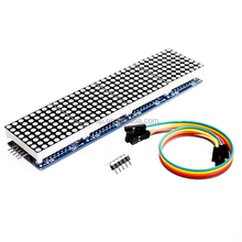 High Quality MAX7219 Dot Matrix Module Arduinos control microcontroller module 4 In One Display with 5P Line
