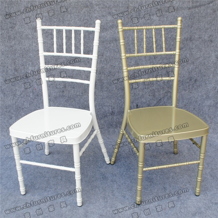 Stacking metal tiffany chair sale to south africa with cushion YC-A22