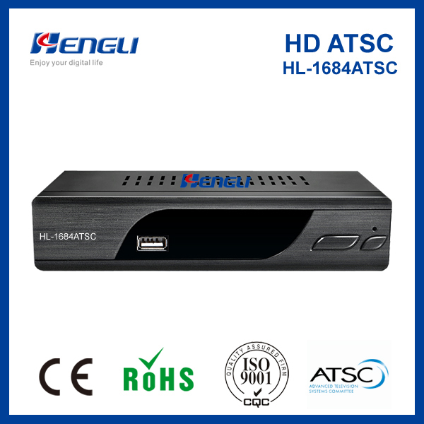 Good quality digital tv converter set top box ATSC receiver