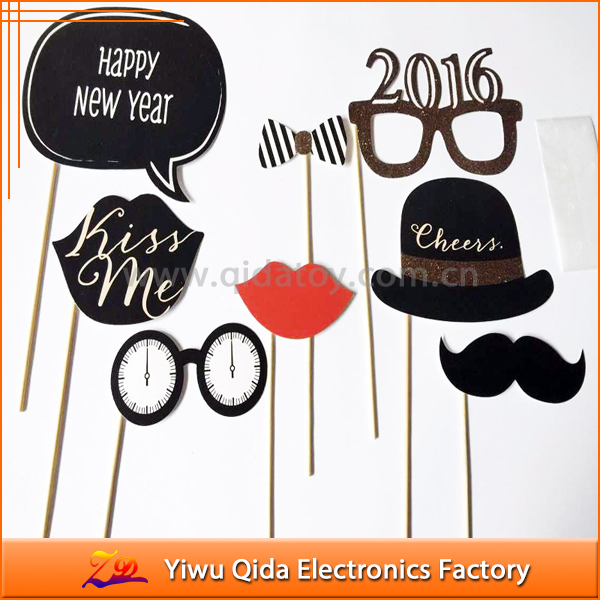 wholesale happy new year photo props funny selfie props