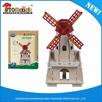 Cheap hot sale top quality 3d diy uk famous building tower bridge puzzle model