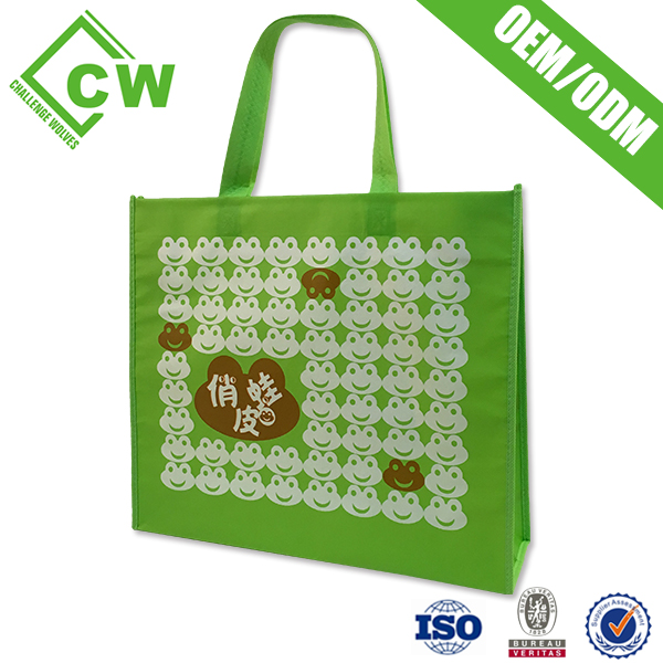 New arrival ISO9001 high quality cheap price can custom pp non woven promotion bag shopping