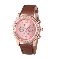 2016 Vogue jewelry ladies watch with branded watches for women