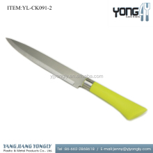 Plastic handle 8 inch electric kitchen meat cutting knife