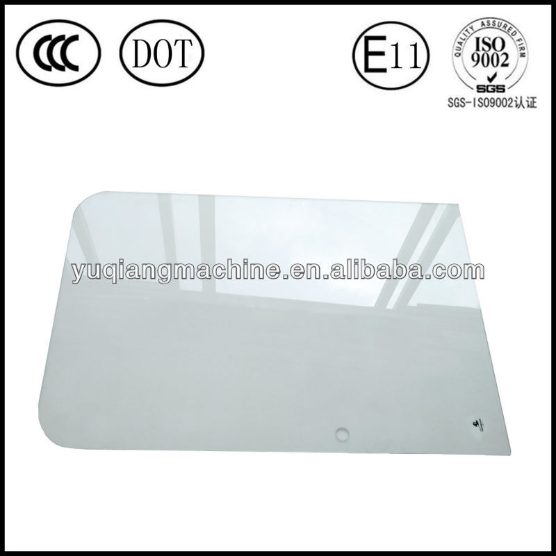 High quality E-MARK and DOT certified tempered safety glass Ihitachi spares EX-3