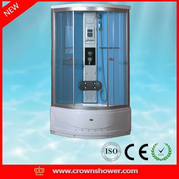 New design high quality steam sauna shower room double sink modern bathroom cabinet with mirror canada