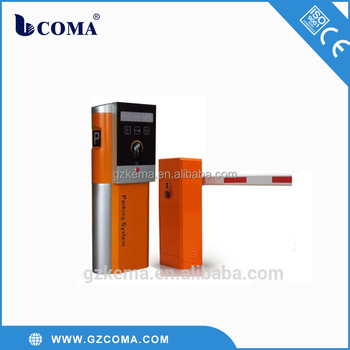 Business card dispenser for vehicle access control parking system
