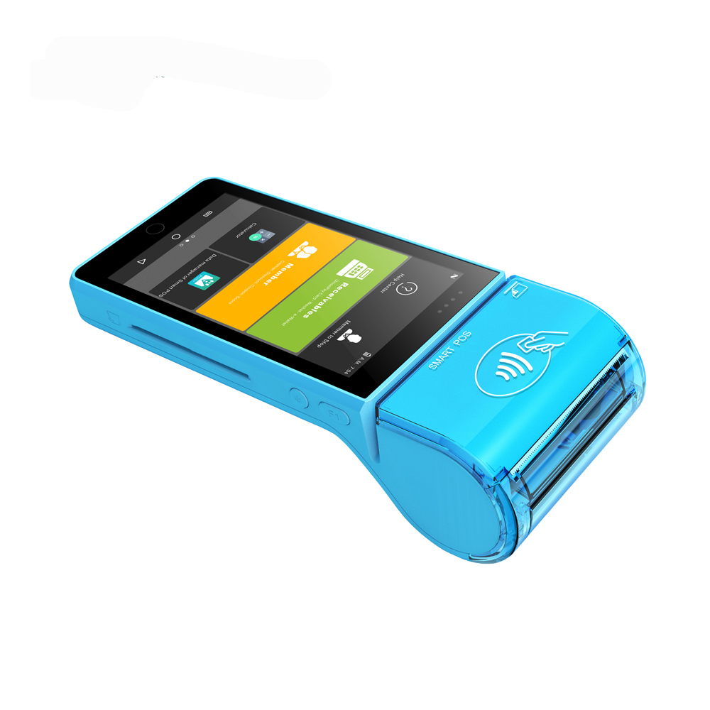 Android Mobile Payment Terminal EMV POS chip card reader printer/ 4g mobile android pos