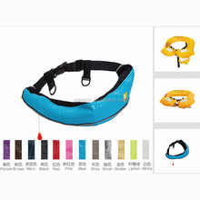 latest beautiful leather personalized waist belt marine life jacket on sale