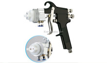 best price NO.PT-19 low pressure hvlp dual nozzles spray paint gun for car chrome