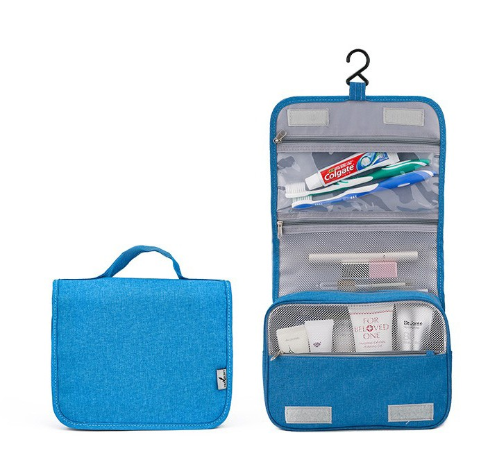 4 colors New design Toilet Bags Polycanvas Travel Organizer Pack Women & Mens Hanging Toiletry Bag