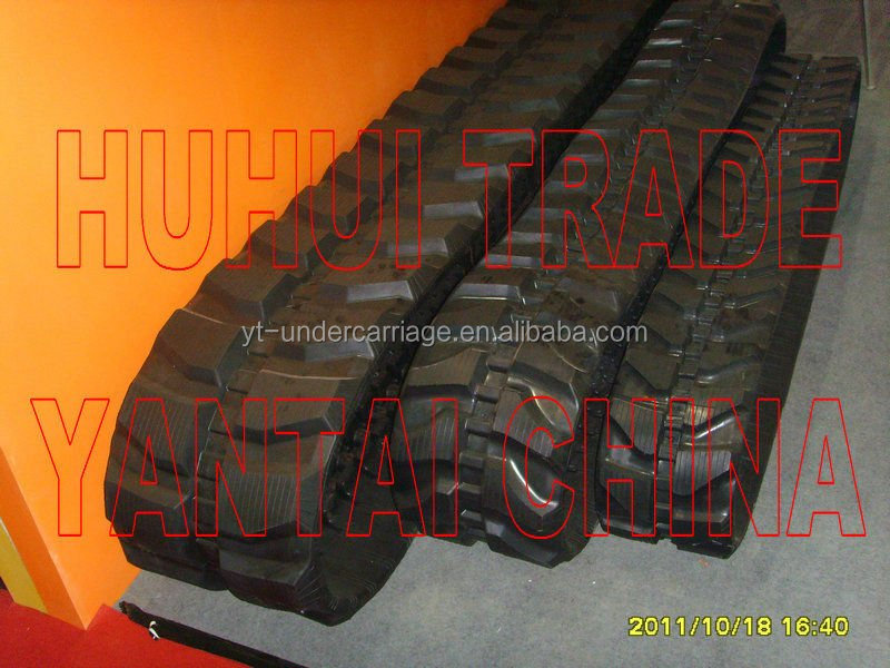 Rubber Track Chain for Excavator Kubota, Volvo, Takeuchi, Bobcat