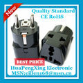 Schuko -2 in 1 Germany, France, Europe ,Korea travel adapter plug