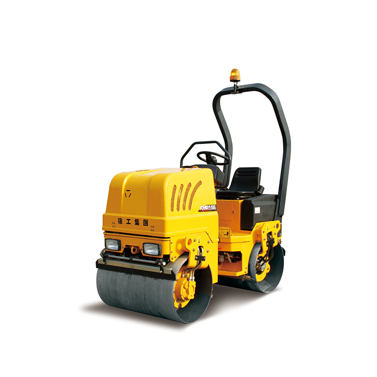 XCMG XMR15S heavy duty vibratory roller manual road roller