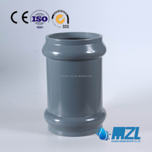 rubber pvc pipe fitting manufactured in China