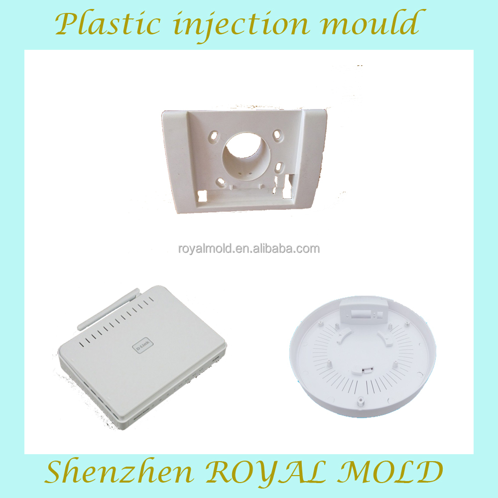 led street light housing plastic mold injection molding, custom mold design