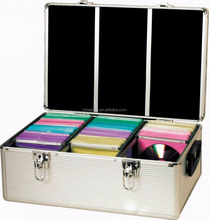 Foshan factory price 1000 cd dvd aluminum storage case