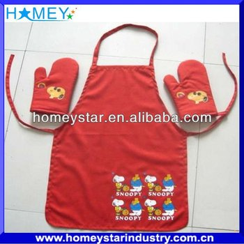 printed kitchen apron sets