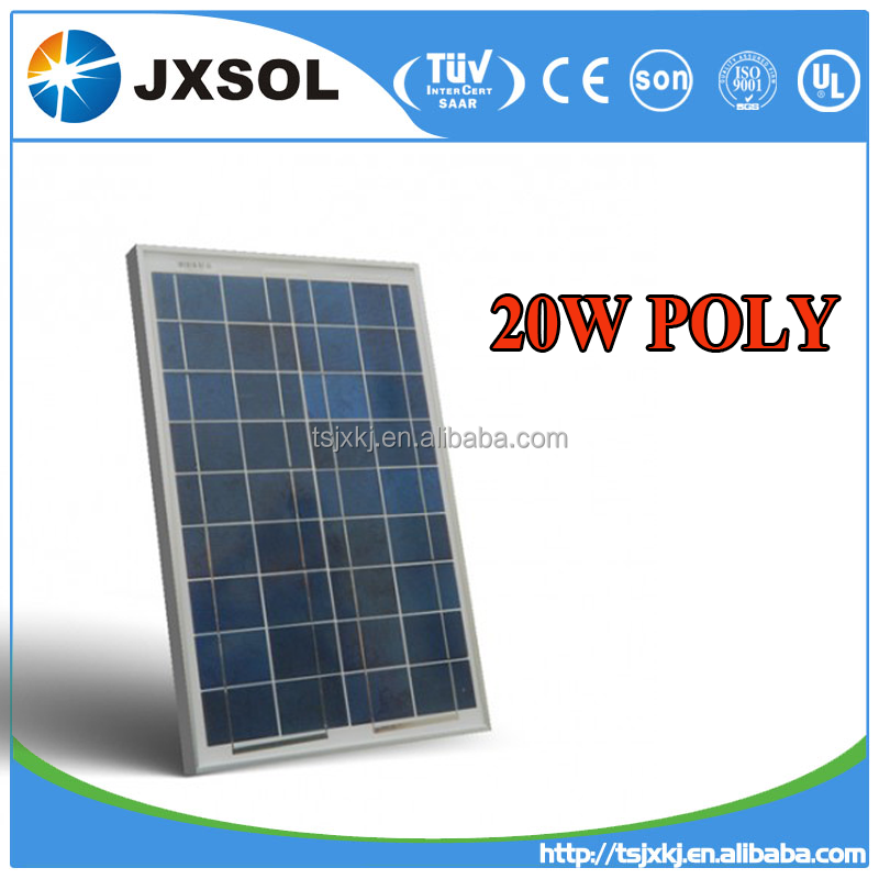best price 20w poly small solar panel for solar power system