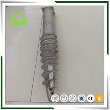 ground screws anchor for street lamps