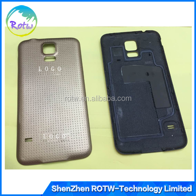 China suppliers for Samsung Galaxy S5 G900P Battery Door Back Housing
