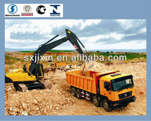shaanxi shacman336 horse power dump truck price