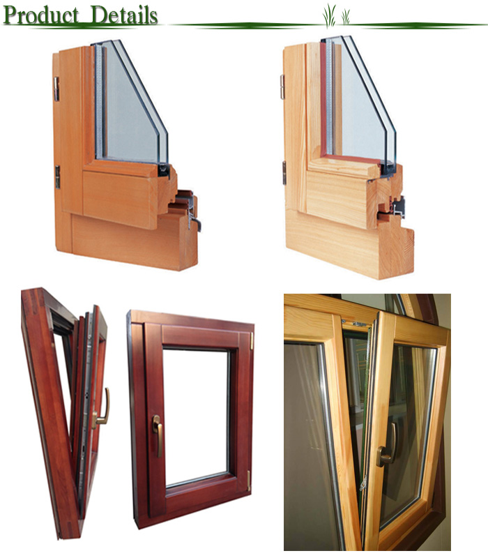 residential building wood aluminium French windows
