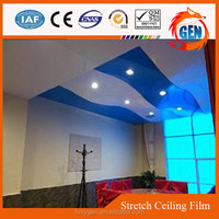 2015 latest 15-year warranty firerpoof hall false ceiling designs