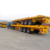 tri-axle/ three axles flatbed container semi trailer