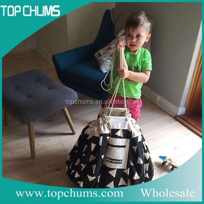 Personnalisé hot-vente produits voyage sac de rangement bébé enfants jouet sac de rangement