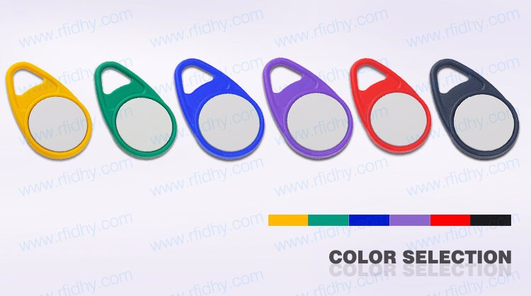 Alibaba High Quality Customized Smart Silicone Key Fob Hardware With Ring